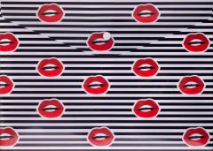 Набор папок конвертов Buromax Lips на кнопке А4 12 шт Красный (BM.3955-05)