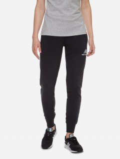Спортивные штаны New Balance Ess Ft WP03530BK S Черные (194389396417)