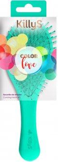 Щетка для волос KillyS массажная Color Love 417746 (5902704177468)