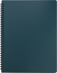 Набор тетрадей 5 шт Buromax Office 96 листов А4 в клетку пластиковая обложка Зеленый (BM.24451150-04)