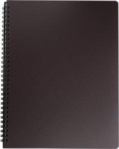Набор тетрадей 5 шт Buromax Office 96 листов А4 в клетку пластиковая обложка Коричневый (BM.24451150-19)