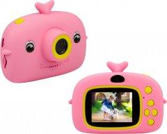 Цифровой детский фотоаппарат Atomix Flix 11 Two Cameras 20MP 1080p Pink (dfpaoflx11p)