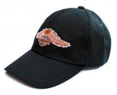 Бейсболка Rockway с вышивкой Harley-Davidson лого с орлом черная (N0045-3313)
