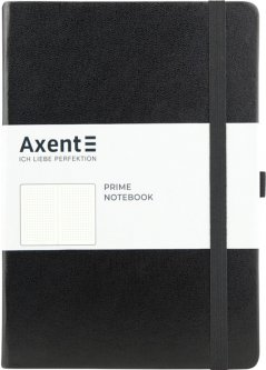 Записная книга Axent Partner Prime 145х210 мм A5 96 листов в точку Черная (8304-01-A)