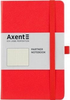 Записная книга Axent Partner 125х195 мм в точку 96 листов Красная (8306-05-A)