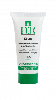 Себорегулирующий гель Cantabria Biretix Duo–Purifying Exfoliant Gel Anti-Blemish Gel