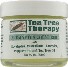 Противопростудный бальзамTea Tree Therapy с маслами эвкалипта, лаванды, перечной мяты и чайного дерева 57 г (637792800503)