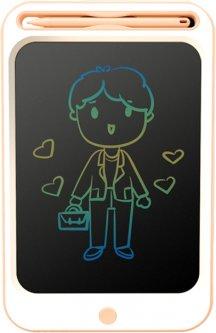 """Детский LCD планшет для рисования Beiens 10"""" Multicolor Розовый (ZJ16-Cpink)"""