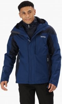 Куртка Regatta Wentwood IV RMP270-91Q M Синяя (5057538642047)