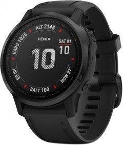 Спортивные часы Garmin Fenix 6S Pro Black with Black Band (010-02159-14)