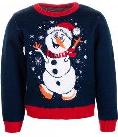 Джемпер Flash Різдво 19BG134-6-3900 116 см NY Синій (2200000248589)