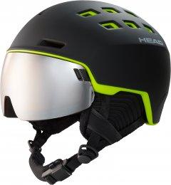 Шлем горнолыжный HEAD RADAR XL/XXL Black (726424859368)