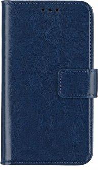 """Чехол-книжка 2Е Basic Eco Leather для смартфона 4.5-5"""" универсальный Navy (2E-UNI-4.5-5-HDEL-NV)"""