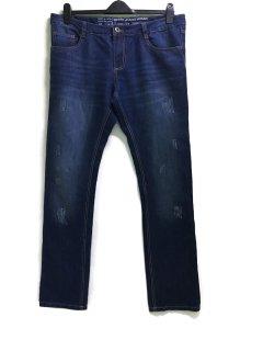 Джинси Livergy 54 темно-синій. 271754_потерти
