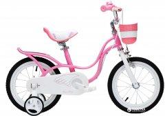 "Велосипед Royal Baby Little Swan 16"" Official UA Розовый (RB16-18-PNK)"
