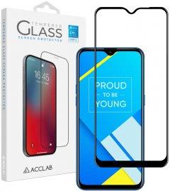 Защитное стекло ACCLAB Full Glue для Realme C2 Black (1283126508424)