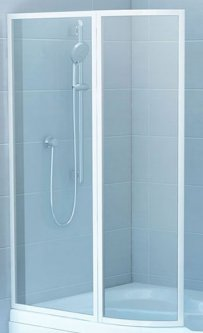 Шторка для ванны RAVAK VSK2 Rosa II 170 Rain 76LB010041 левосторонняя