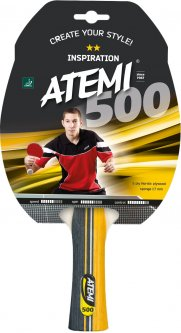 Ракетка для настольного тенниса Atemi 500С (10041)