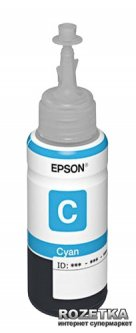 Контейнер Epson L800 Cyan (C13T67324A)