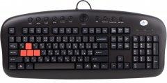 Клавиатура проводная A4Tech KB-28G USB (4711421775656)