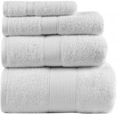 Махровое полотенце Arya Miranda Soft 70x140 Белое (8680943039484)