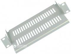 """Полка консольная ZPAS 10"""" 1U для серверного шкафа/стойки D18.5 Серая (WNK-891-311)"""