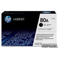 Картридж HP 80A LJ M425dn/M425dw/M401a/M401d/M401dn/M401dw Black (CF280A)