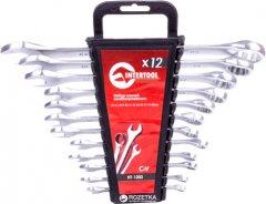 Набор ключей Intertool 12 предметов, 6-22 мм (HT-1203)