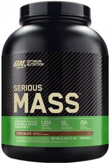 Гейнер Optimum Nutrition Serious Mass 2.72 кг Chocolate (748927022995)