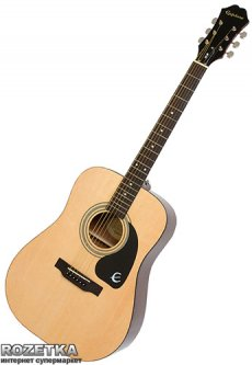 Гитара акустическая Epiphone DR-100 (A002319) Natural CH HDWE