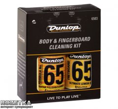 Набор Dunlop System 65 Body and Fingerboard Cleaning Kit (6503)