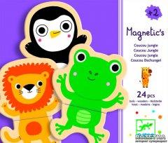 Магнитная игра Забавные животные 24 деталей Djeco (DJ03118)
