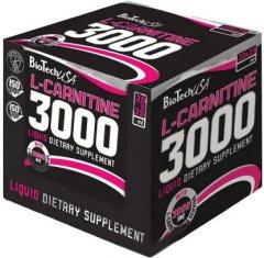 Жиросжигатель Biotech L-CARNITINE 3000 AMPULE 20 x 25 мл Лимон (5999076204502)