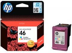 Картридж HP No.46 Ultra Ink Advantage Tri-color (CZ638AE)