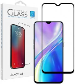 Защитное стекло ACCLAB Full Glue для Realme XT Black (1283126508448)