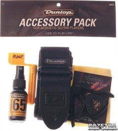 Набор аксессуаров для акустической гитары Dunlop GA21 Accessory Pack