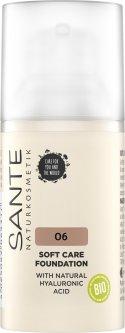 БИО-основа под макияж Sante Soft Care с гиалуроновой кислотой №6 Neutral Amber 30 мл (4025089085362)