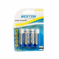 Батарейка Beston AA 1.5 V Alkaline 4 шт (AAB1831)