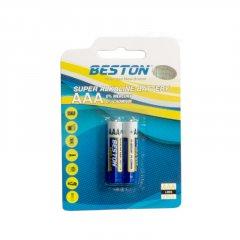 Батарейка Beston AAA 1.5 V Alkaline 2 шт (AAB1832)
