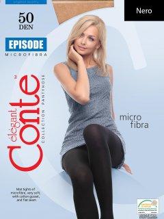 Колготки Conte Episode 50 Den 4 р Nero -4810226009581