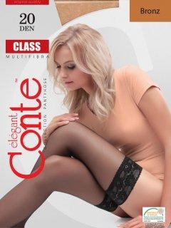 Чулки Conte Class 20 Den 1-2 р Bronz -4810226008942