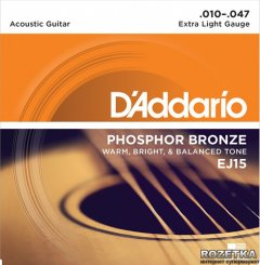 DAddario EJ15 Phosphor Bronze Extra Light (10-47)