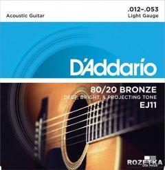 DAddario EJ11 80/20 Bronze Light (12-53)
