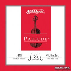 Струны D'Addario J810 3/4M Prelude Medium Tension