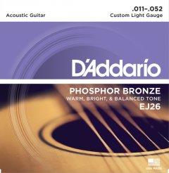 D'Addario EJ26 Phosphor Bronze Custom Light (11-52)