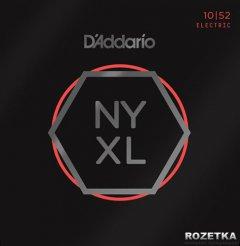 D'Addario NYXL1052 Nickel Regular Light/Heavy (10-52)