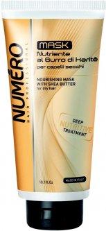 Крем Brelil Numero для волос питательный с маслом каритэ и авокадо 300 мл (8011935069705)