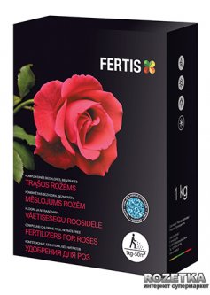 Удобрение для роз Fertis без хлора и нитратов 1 кг (10506873) 4770767316800/4779039690129
