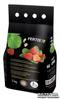 Удобрение для клубники и земляники Fertis без хлора и нитратов 3 кг (10506916) 4770767315469/4779039690242