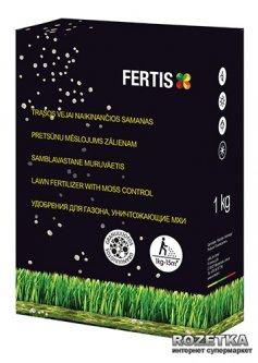 Азотное удобрение для газона и уничтожения мха без нитратов Fertis 1 кг (10506868) 4770767315100/4779039690181